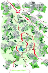 Maa Press and Smum iem publish new Sinixt map